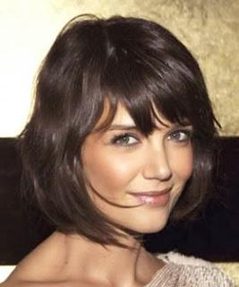Corte de cabelo chanel da Katie Holmes