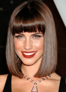 Corte de cabelo chanel fica bom para rosto muito comprido?