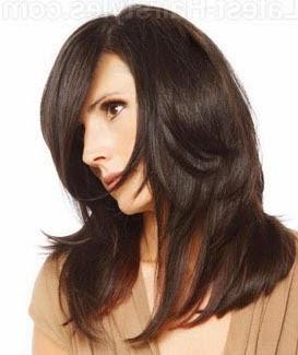 Como cortar cabelo longo em camadas
