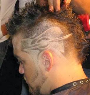 Desenhos para corte de cabelo