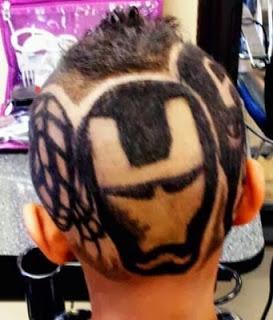 Corte de cabelo para criança
