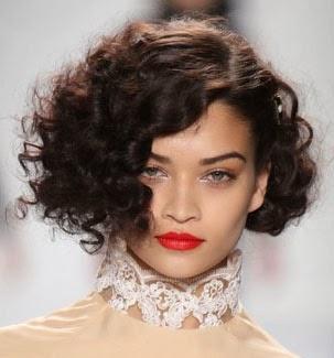Corte chanel para cabelo enrolado fica bom?