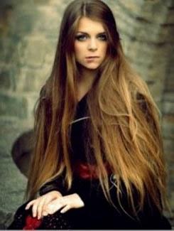 Fotos de cabelos lisos enormes e lindos