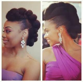 Como fazer um penteado moicano para cabelo afro