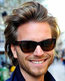 Cortes de cabelo masculino cabelo medio e rosto redondo