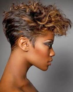 como fazer penteados com topete para cabelos curtos