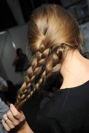 penteados simples para o carnaval