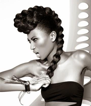 Fotos dos melhores penteados para mulheres com cabelos afros