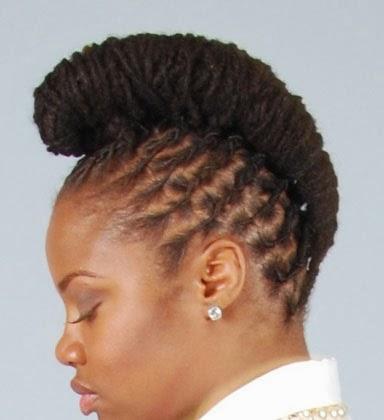 Modelos diferentes de penteados para negras