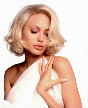 Penteado da década de 60 da angelina Jolie e outras famosas