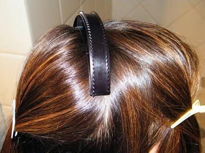 imagens de penteados de topete com tiara
