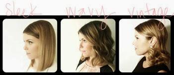 Fotos de penteados vintage para cabelo curto e liso