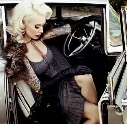 Penteados estilo pin up girl dos anos 60 com muito glamour