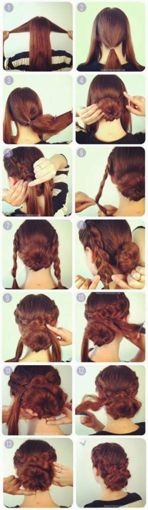 passo a passo de modelos de penteados para debutantes fáceis de fazer com coroa