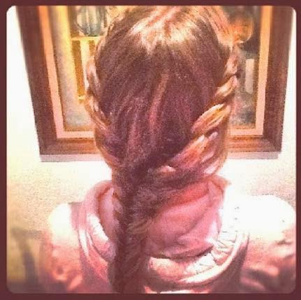 penteado para o carnaval trançado para cabelos médios
