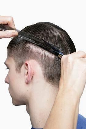 como cortar o cabelo masculino sozinho em casa