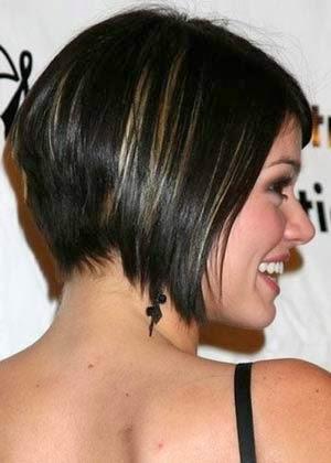 Cortes curtos para cabelos lisos