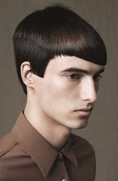 Corte de cabelo asa delta liso masculino