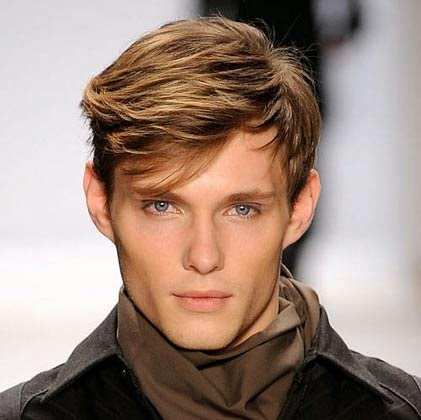 tendencias de cabelos medios masculinos inverno 2014