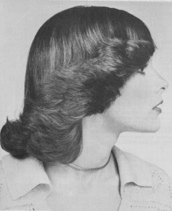 como fazer penteados dos anos 70