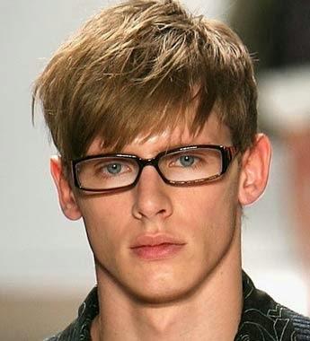 Dicas para cabelo masculino liso com franja