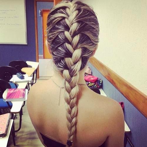 penteados da moda passo a passo simples