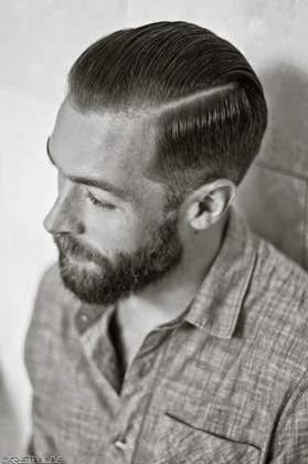 corte de cabelo com navalha masculino