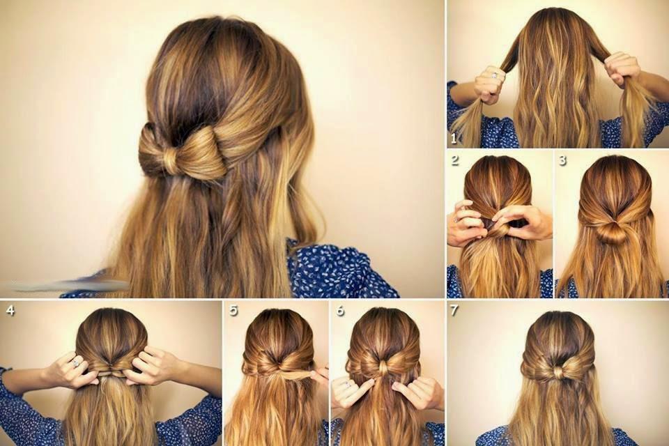 penteados com cabelos soltos para ir a escola