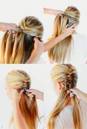 penteados e trancas fáceis