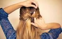 Foto de penteado para cabelo comprido