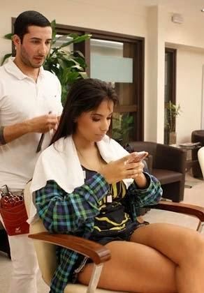 como fazer o corte de cabelo da anitta