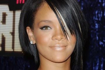 Corte de cabelo curto da Rihanna