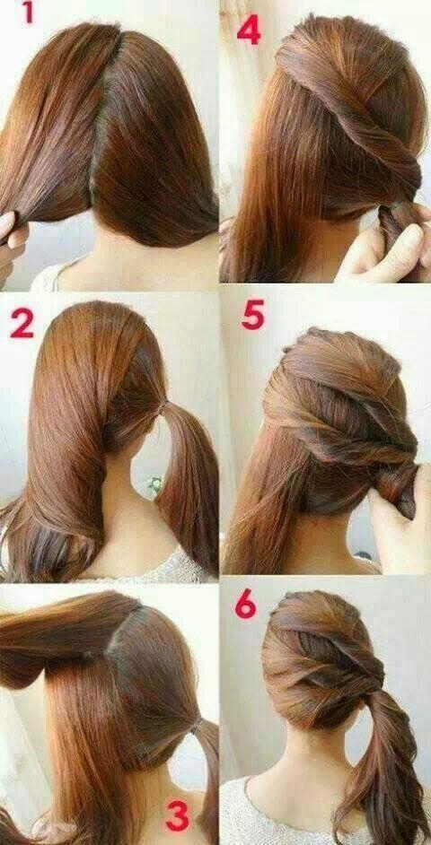 Dicas simples de penteados laterais