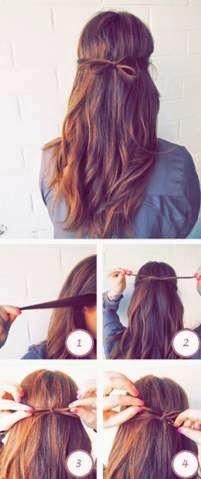 penteados para o dia a dia cabelos lisos