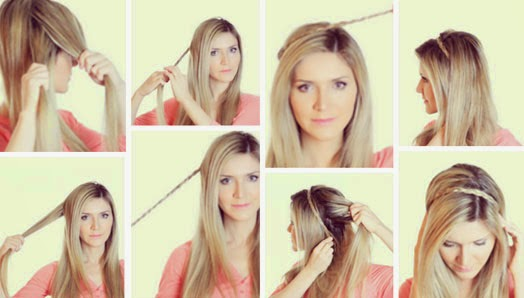 Como fazer penteados delicados românticos