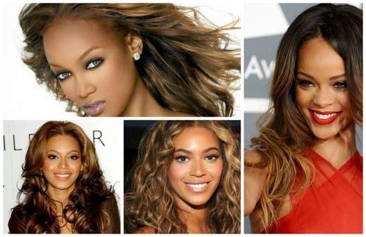 imagens de cores de cabelo para morenas