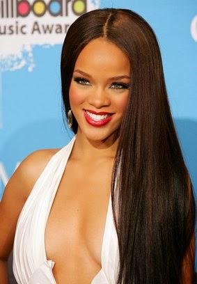 melhores cortes de cabelo da Rihanna