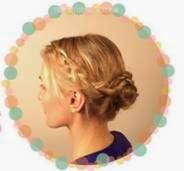 penteados para cabelos longos presos