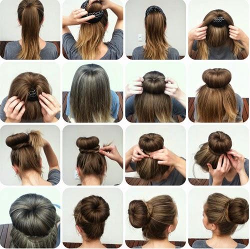penteados chiques e simples de fazer