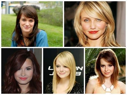 tipos de franja para cada tipo de rosto