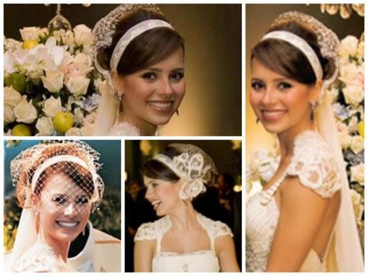fotos de penteados presos para noivas