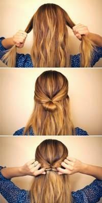 penteados para cabelos longos para o dia a dia