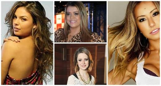 cores de cabelo para morenas 2014