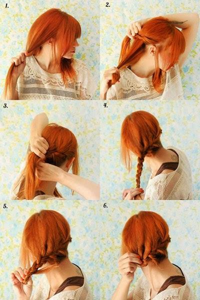 penteados para o dia a dia cabelos medios