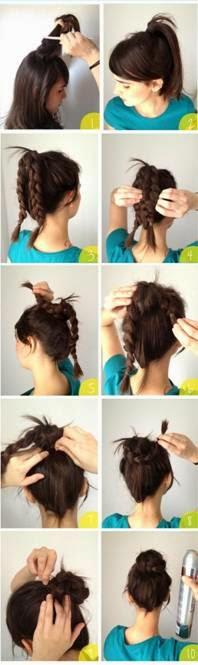 Como fazer penteado para cabelo comprido