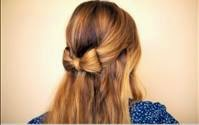 penteados simples para cabelos longos