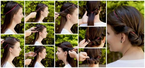 Penteado feminino romântico passo a passo