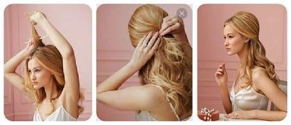 penteados chiques para madrinhas de casamento