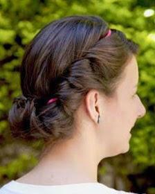 penteado romântico para casamento