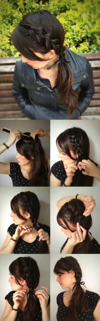 penteados simples para o dia a dia para fazer sozinha